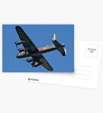 Avro Lancaster B.1 PA474 HW-R Postcards