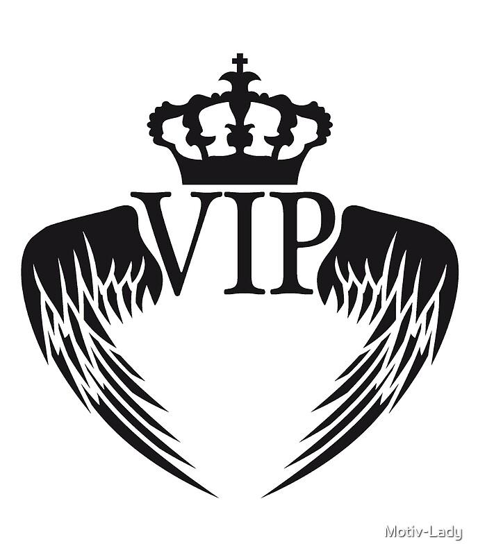 Angel Wings King Crown King Logo Symbol Emblem Vip Cool Design