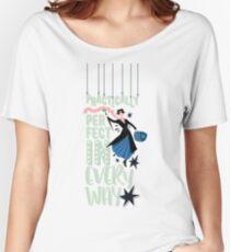 Camiseta ancha para mujer Mary Poppins