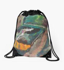 TV NIGHT IN BED(C2016) Drawstring Bag