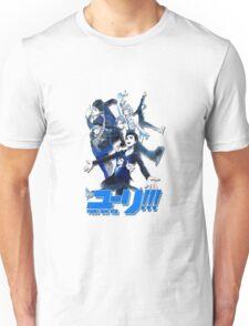 yuri!!! on ice (group version//blue) Unisex T-Shirt