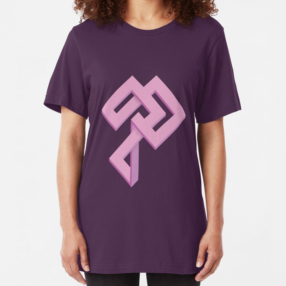 Impossible Figure #2 Slim Fit T-Shirt
