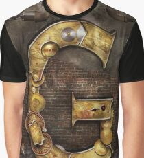 Steampunk - Alphabet - G is for Gears Graphic T-Shirt