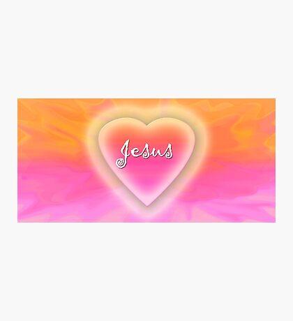 Jesus inside my heart Photographic Print