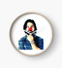Red Nose Milo Ventimiglia Clock
