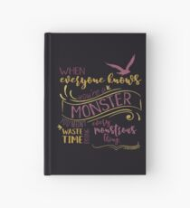 Every Montrous Thing - Dark Hardcover Journal