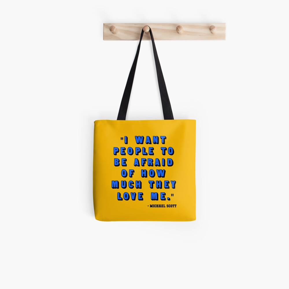 Custom for B -  Michael Scott Quote1 Tote Bag