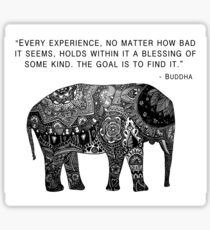 Buddha Wisdom Elephant Sticker