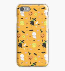 Halloween Pattern feat. Witch, Ghost, Pumpkin and More iPhone Case/Skin