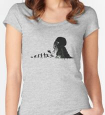 Lovecraftian Evolution Women's Fitted Scoop T-Shirt