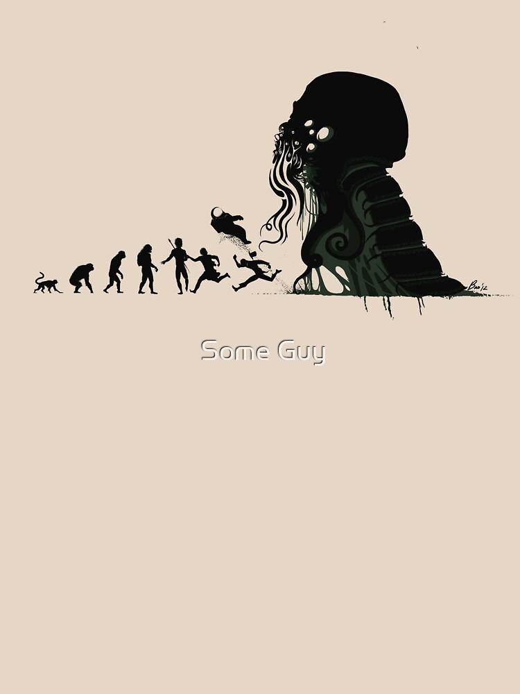 Lovecraftian Evolution by AlanBaoArt