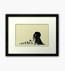 Lovecraftian Evolution Framed Print