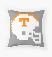 Tennessee Volunteers 8 bit Helmet Throw Pillow