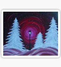 arrival in Narnia Sticker