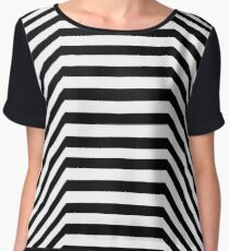 SQUEAKY LINES Chiffon Top