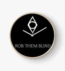 """Rob Them Blind"" - Thieves Guild Clock"