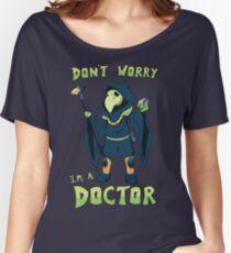 "Plague Knight - ""I'm a doctor"" - Shovel Knight Women's Relaxed Fit T-Shirt"