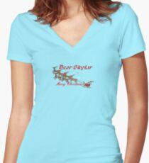 Skylar Women's Fitted V-Neck T-Shirt
