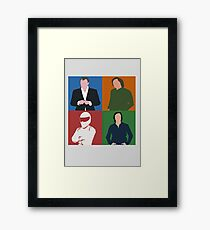 Top Gear Gang Framed Print
