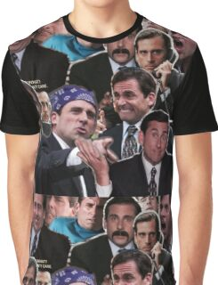 The Office Michael Scott - Steve Carell Graphic T-Shirt