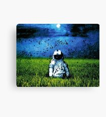 Deja Entendu (Blue) Canvas Print