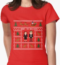 I WANT TO BELIEVE IN UGLY CHRISTMAS T-Shirt