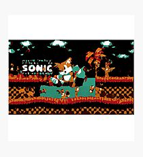Tails Sonic the Hedgehog Photographic Print