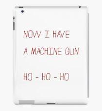 Happy Die Hard Xmas !! iPad Case/Skin