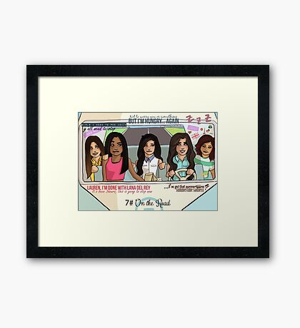 5H-  Roadtrip Framed Print