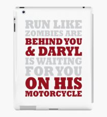 Daryl Motorcycle iPad Case/Skin