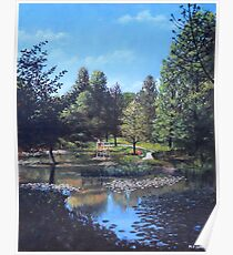 Southampton Hillier Gardens late summer Poster