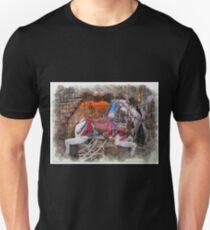 Antique Carousel Horse Unisex T-Shirt
