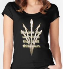 Warriors Gold Women's Fitted Scoop T-Shirt