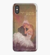 So I stayed in the darkness with you iPhone Case
