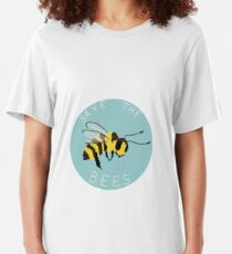 Save the Bees! Slim Fit T-Shirt