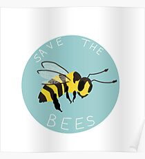Save the Bees! Poster