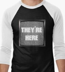 Poltergeist Quote - They're Here Men's Baseball ¾ T-Shirt