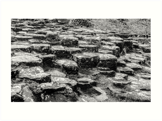 Rocks of Giants Causeway -Northern Ireland #2 by Lexa Harpell