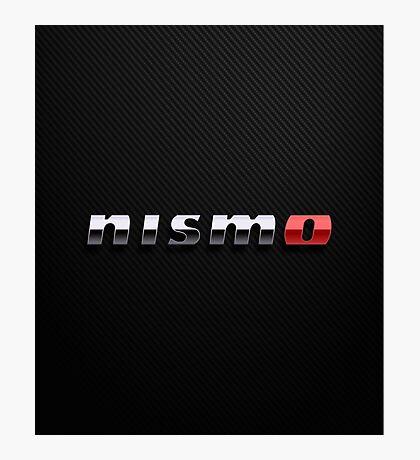 Nismo logo chrome Photographic Print