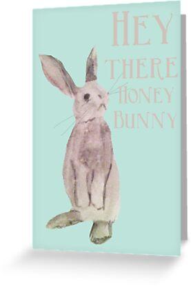 Hey Honey Bunny by Amy Hadden