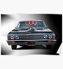 1967 Chevrolet 'High-Performance' Chevelle Poster