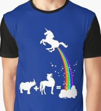 Funny unicorn origin Graphic T-Shirt
