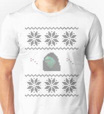 Hooded Kermit Christmas Sweater Unisex T-Shirt