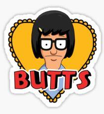 Butts Sticker