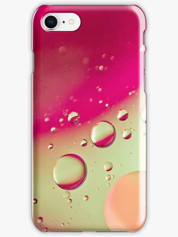 Pink Bubble Mix- Also iPhone Case by HanieBCreations