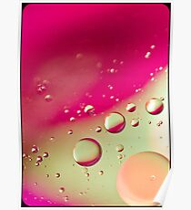 Pink Bubble Mix- Also iPhone Case Poster