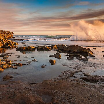 July - Pearses Beach splash by RyePixels