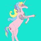 Princess DreamSplicer - the cyborg unicorn by Elvedee