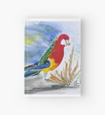 Eastern rosella in the wild Hardcover Journal
