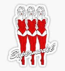 Supermodel Sticker